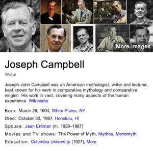Joseph Campbell - Description