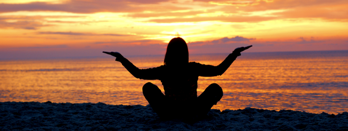 Self-Discovery sunset yoga