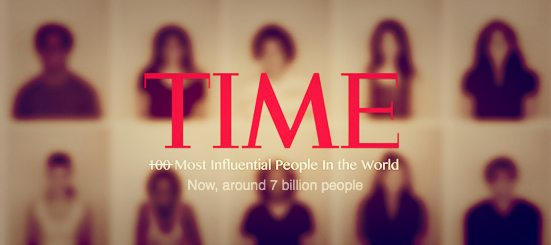 7 billion people are influencers