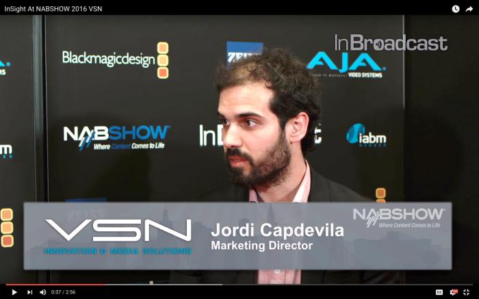 Interview Screenshot Jordi Capdevila Espitia NAB 2016